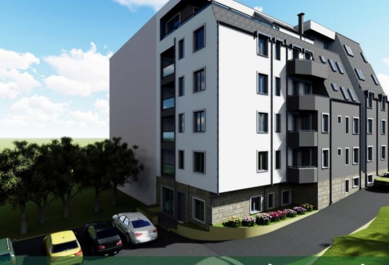 Двустаен нов апартамент в Кайсиева градина